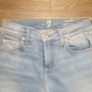 7 For All Mankind Jeans - 7 For All Mankind Ombre Split Hem Jeans